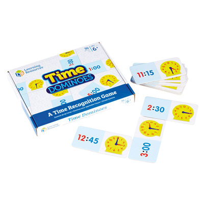 Time Dominoes - by Learning Resources - LSP2528-UK