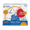 About Time: Telling the Time & Understanding Elapsed Time - by Learning Resources - LSP2541-UK