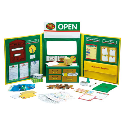 Pretend & Play Post Office Set - by Learning Resources - LSP2666-UK