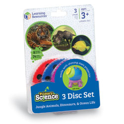 Primary Science Projector Add-On Discs - Set of 3 - by Learning Resources