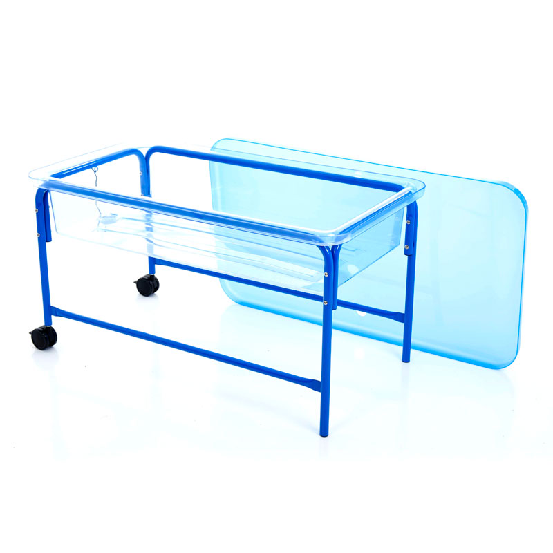 Clear Water Tray - 58cm Blue Stand - CD72263