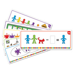 All About Me Family Counter Activity Cards - by Learning Resources