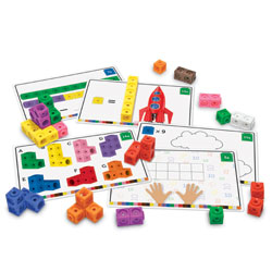 MathLink Cubes Activity Set - by Learning Resources