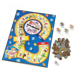 Money Bags Coin Value Game - by Learning Resources