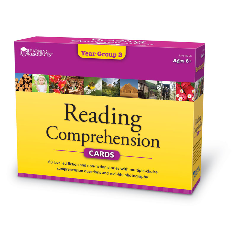Reading Comprehension Card Set - Year Group 2 - by Learning Resources - LSP5499-UK