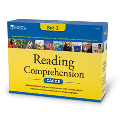 Reading Comprehension Card Set - Year Group 3 - by Learning Resources