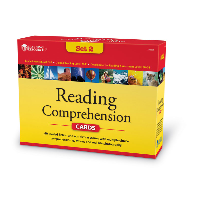 Reading Comprehension Card Set - Year Group 4 - by Learning Resources - LSP5501-UK