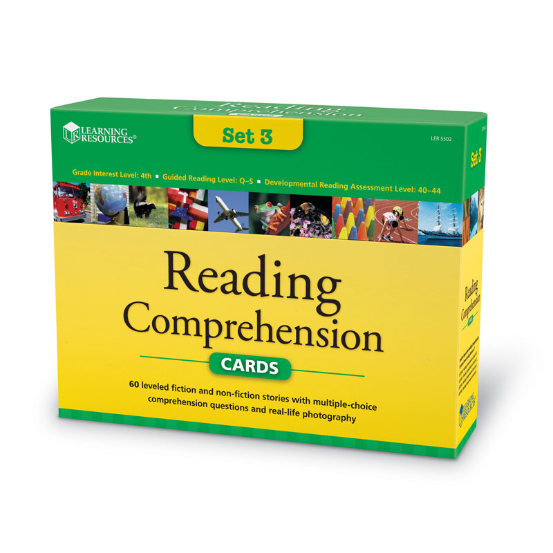 Reading Comprehension Card Set - Year Group 5 - by Learning Resources - LSP5502-UK