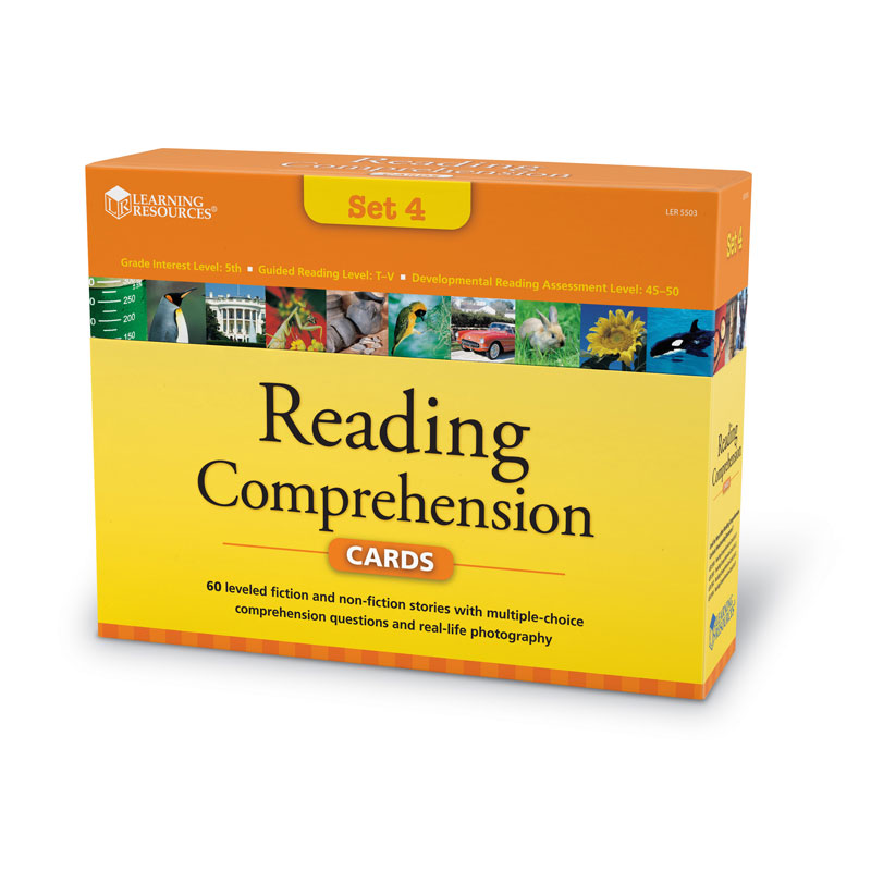 Reading Comprehension Card Set - Year Group 6 - by Learning Resources - LSP5503-UK