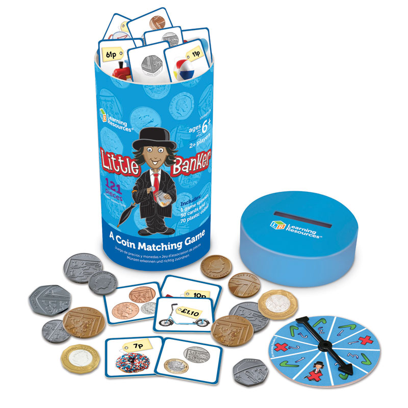 Little Banker Coin Matching Game - by Learning Resources - LSP8557-UK