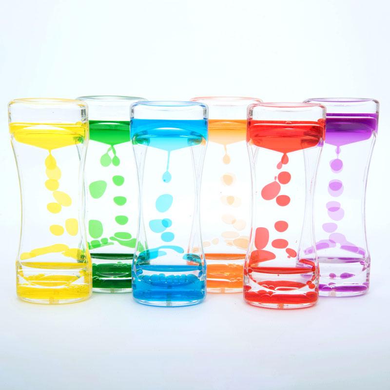 Sensory Rainbow Cascade Set - Set of 6 - CD92100