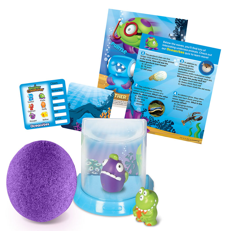Beaker Creatures 2-Pack with Bio-Home - by Learning Resources - LER3815