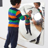 TickiT Giant Single Dome Acrylic Mirror Panel - 780mm - CD72412