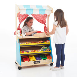 Two-In-One Play Shop and Theatre (Accessories Not Included; Requires Assembly)