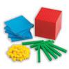 Base 10 Dienes Blocks Coloured Starter Set - Set of 121 Pieces