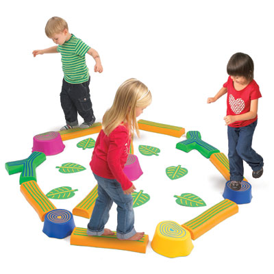 Step-a-Forest Balancing Path - Set of 24 Pieces - CD74604