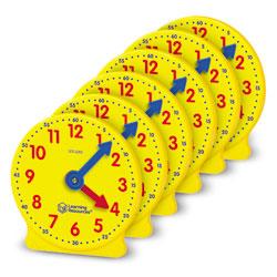 Big Time Geared Mini-Clocks - Set of 6