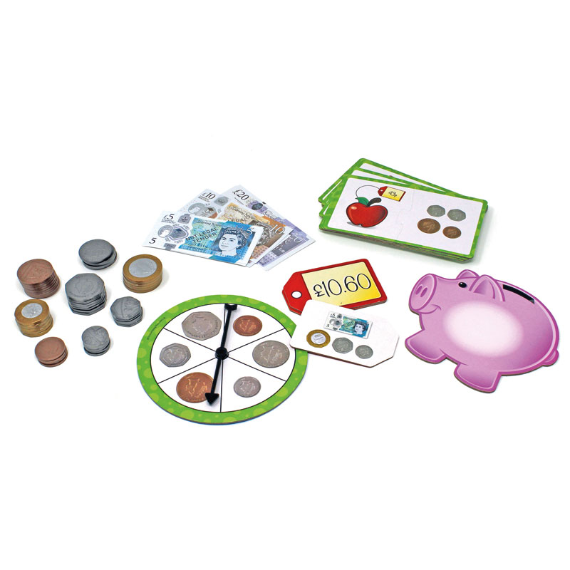 Money Activity Set - by Learning Resources - LSP3219-UK