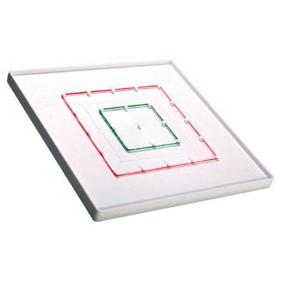 5 x 5 Pinboard (Geoboard) - Single - includes Elastic Bands - IP151459