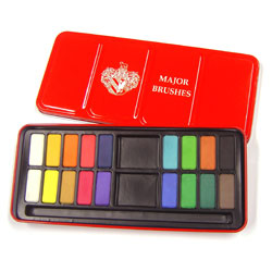 18 Block Artist Watercolour Paint Set