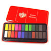 24 Block Artist Watercolour Paint Set