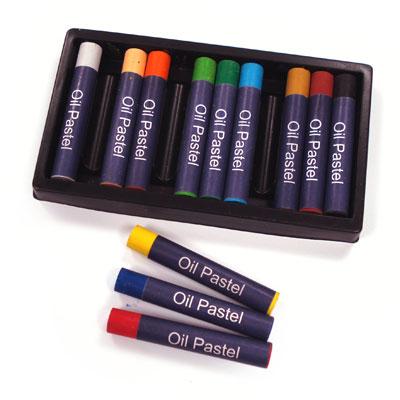 Oil Pastels - Set of 12 - MB-Z1016