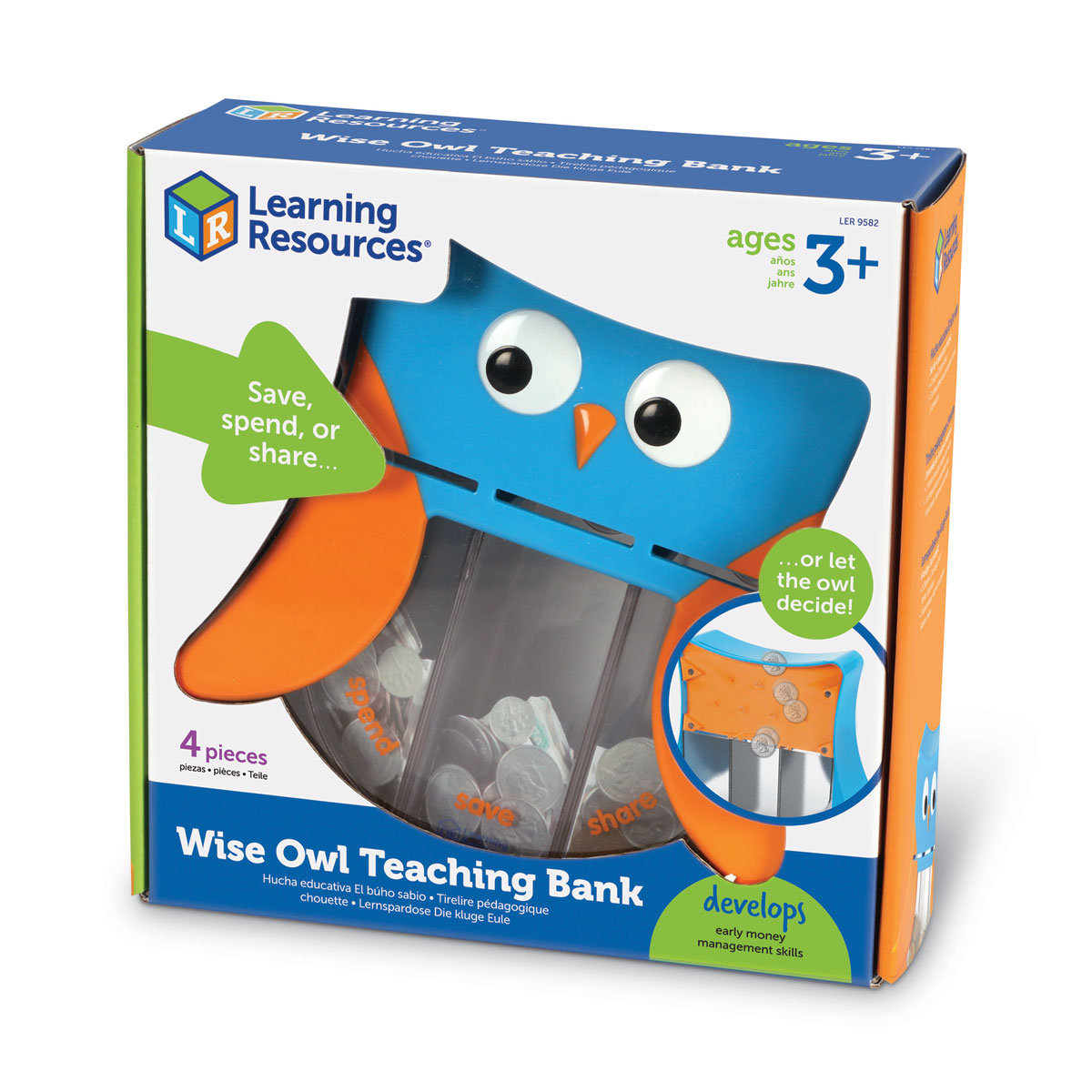 Wise Owl Teaching Bank - by Learning Resources