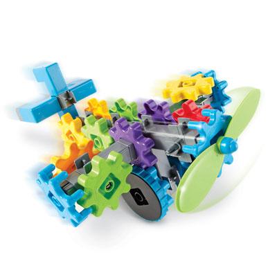 Gears! Gears! Gears! FlightGears - Set of 44 Pieces - by Learning Resources - LER9236