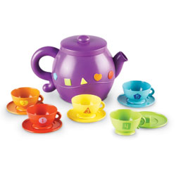 Serving Shapes Tea Set - by Learning Resources