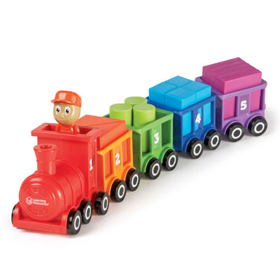 Count & Colour Choo Choo - by Learning Resources - LER7742