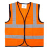Children's Hi-Vis Waistcoat - Orange - Small (4-6 years)