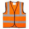 Children's Hi-Vis Waistcoat - Orange - Medium (7-9 years)