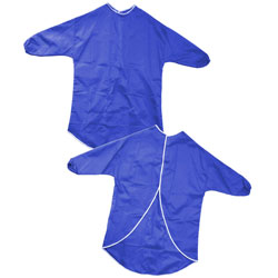 Children's Play Apron - Blue - 65cm Length