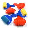 Assorted Foam Rollers - Set of 6
