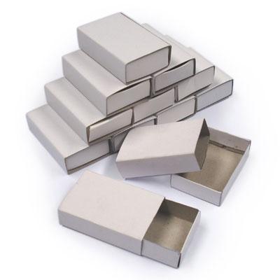 Plain Matchboxes - Pack of 50 - MB7080-50