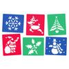 Christmas Stencils - Set of 6