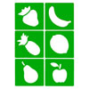 Fruit Stencils - Set of 6