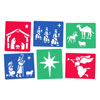 Nativity Stencils - Set of 6