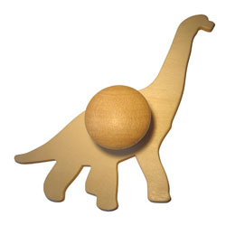 Wooden Dinosaur Templates - Set of 9