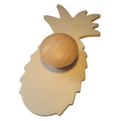 Wooden Fruit Templates - Set of 9