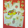 Wooden Healthy Eating Templates - Set of 14 - MB140416-14