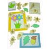 Wooden Leaf & Flower Templates - Set of 14 - MB1406-14