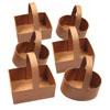 Paper Mache Baskets - Set of 6 - MB7071-6