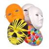 Plain White Paper Fibre Face Masks - Set of 10 - MB7073-10