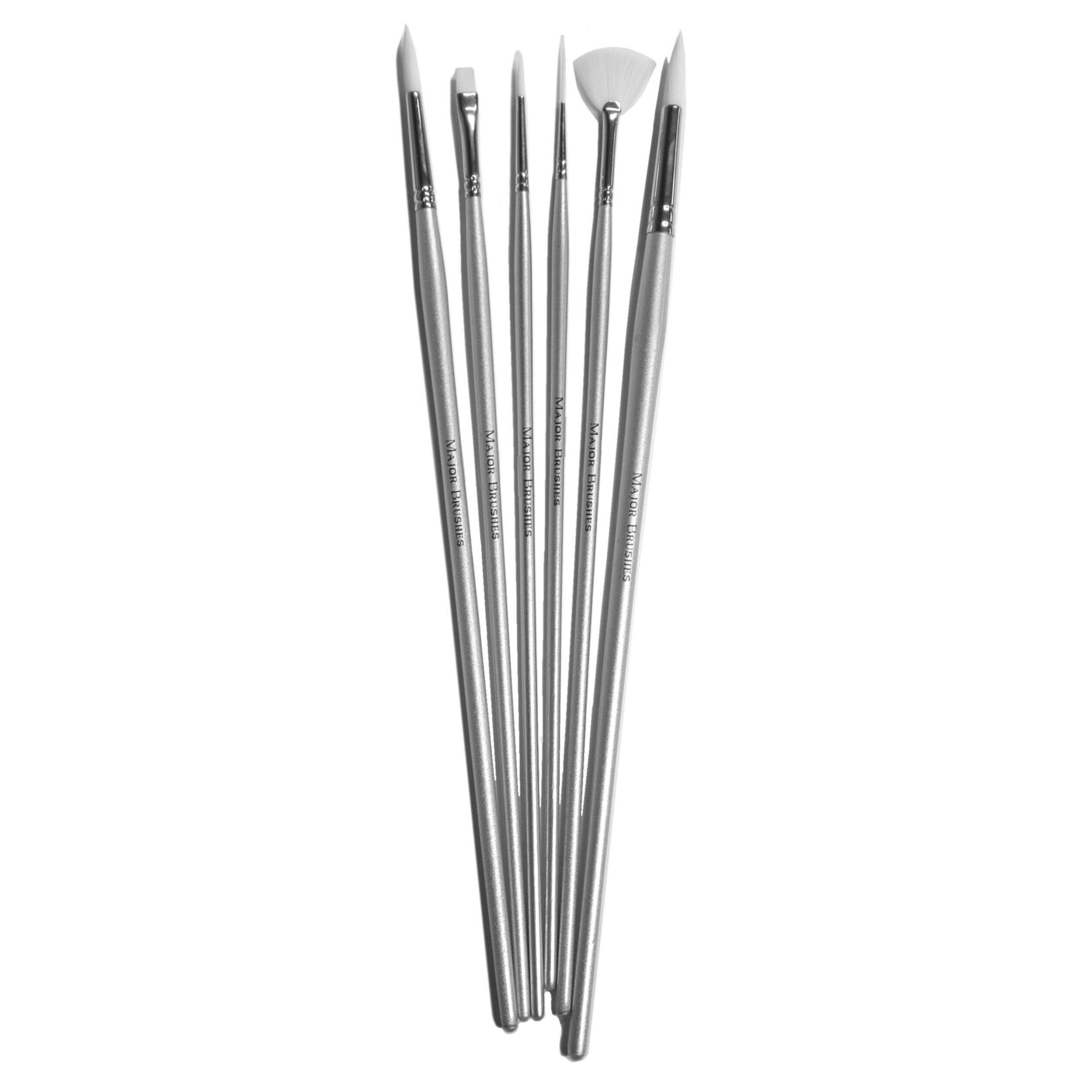 Watercolour Brush Set - Set of 6 - MB530-6