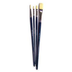 Oil Painting Brush Set - Set of 4