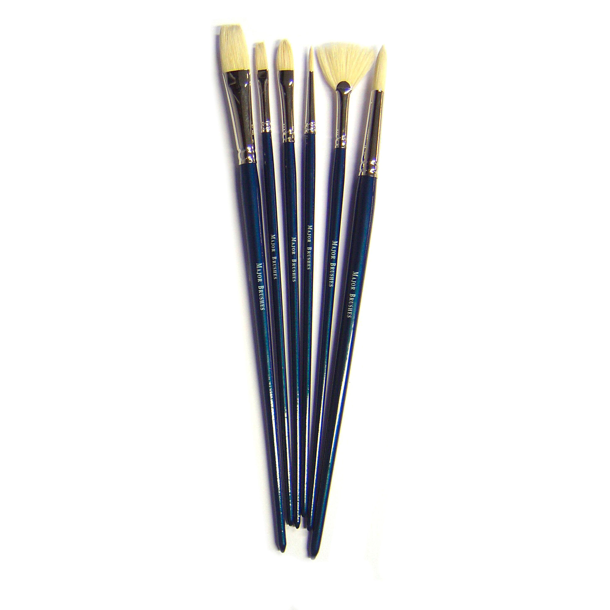Oil Painting Brush Set - Set of 6 - MB460-6
