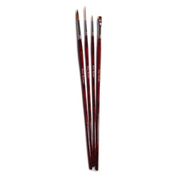 Acrylic Painting Brush Set - Set of 4