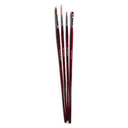 Acrylic Painting Brush Set - Set of 4
