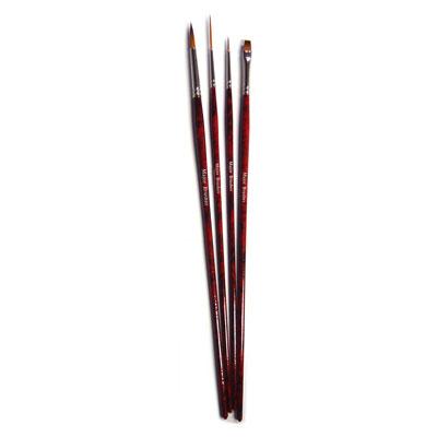 Acrylic Painting Brush Set - Set of 4 - MB570-4